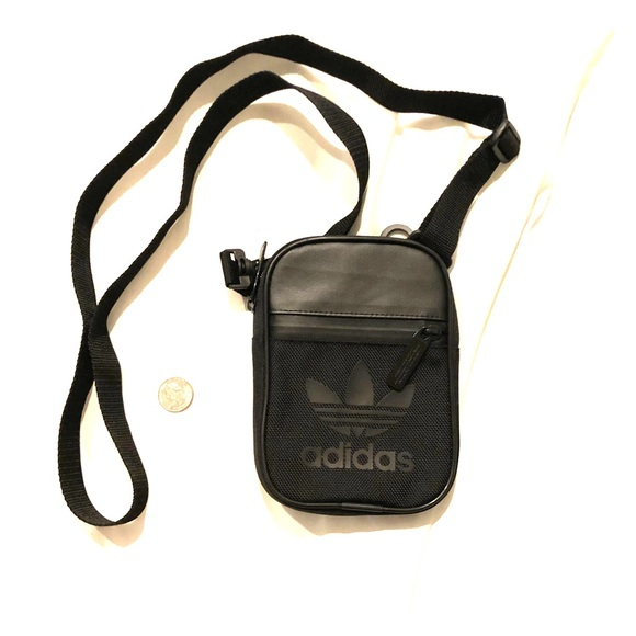903f66a5425 adidas Handbags - Adidas black Small shoulder bag sling bag NWOT